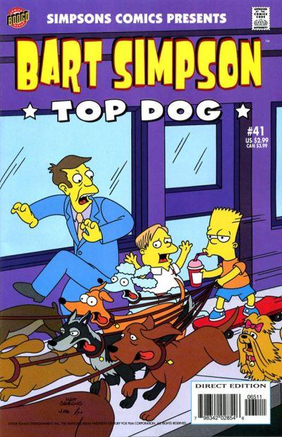 Cover for Simpsons Comics Presents Bart Simpson (Bongo, 2000 series) #41
