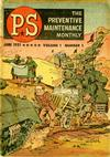Cover for P.S. Magazine: The Preventive Maintenance Monthly (Department of the Army, 1951 series) #1