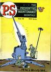 Cover for P.S. Magazine: The Preventive Maintenance Monthly (Department of the Army, 1951 series) #30
