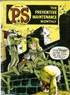Cover for P.S. Magazine: The Preventive Maintenance Monthly (Department of the Army, 1951 series) #36
