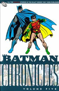 Cover Thumbnail for The Batman Chronicles (DC, 2005 series) #5