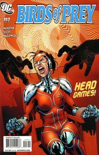 Cover Thumbnail for Birds of Prey (DC, 1999 series) #117