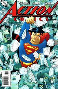 Cover Thumbnail for Action Comics (DC, 1938 series) #864 [Direct Sales]