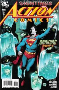 Cover Thumbnail for Action Comics (DC, 1938 series) #866 [Direct Sales]