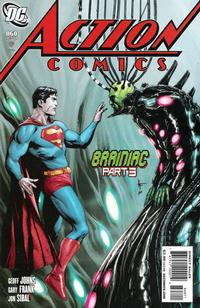 Cover Thumbnail for Action Comics (DC, 1938 series) #868 [Direct Sales]