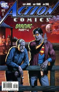 Cover Thumbnail for Action Comics (DC, 1938 series) #869 [Corrected Version]