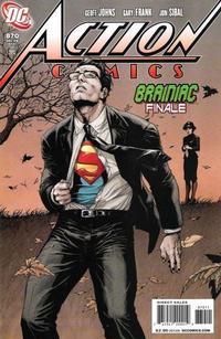 Cover Thumbnail for Action Comics (DC, 1938 series) #870 [Direct Sales]