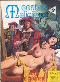 Cover Thumbnail for Contes Malicieux (Elvifrance, 1974 series) #33