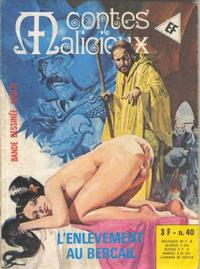 Cover Thumbnail for Contes Malicieux (Elvifrance, 1974 series) #40