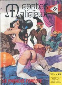 Cover Thumbnail for Contes Malicieux (Elvifrance, 1974 series) #45