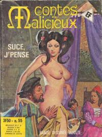 Cover Thumbnail for Contes Malicieux (Elvifrance, 1974 series) #55