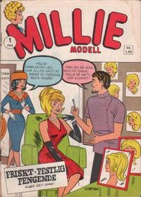 Cover Thumbnail for Millie Modell (Serieforlaget / Se-Bladene / Stabenfeldt, 1963 series) #1/1964