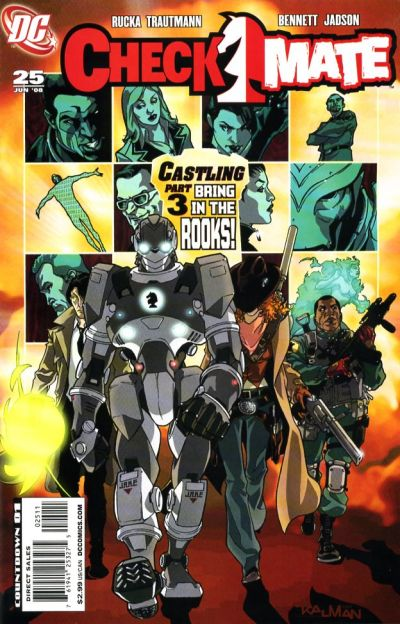 Cover for Checkmate (DC, 2006 series) #25