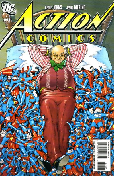 Cover for Action Comics (DC, 1938 series) #865