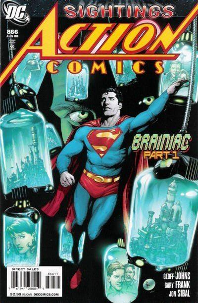 Cover for Action Comics (DC, 1938 series) #866 [Direct]