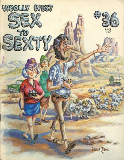 Cover for Sex to Sexty (SRI Publishing Company / A Sex To Sexty Publication, 1965 series) #36