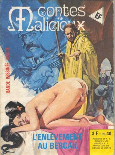 Cover for Contes Malicieux (Elvifrance, 1974 series) #40