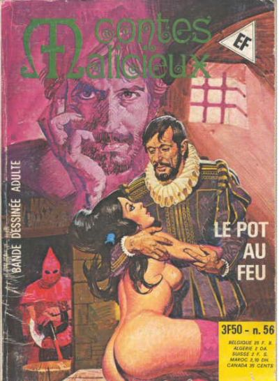Cover for Contes Malicieux (Elvifrance, 1974 series) #56