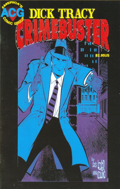 Cover for Dick Tracy Crimebuster (Avalon Communications, 1999 series) #1