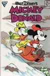 Cover for Walt Disney's Mickey and Donald (Gladstone, 1988 series) #2 [Direct]