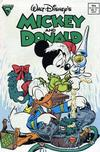 Cover for Walt Disney's Mickey and Donald (Gladstone, 1988 series) #9 [Direct]