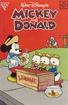 Cover for Walt Disney's Mickey and Donald (Gladstone, 1988 series) #13 [Direct]