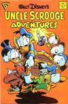 Cover for Walt Disney's Uncle Scrooge Adventures (Gladstone, 1987 series) #2