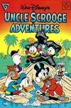 Cover for Walt Disney's Uncle Scrooge Adventures (Gladstone, 1987 series) #18 [Direct]