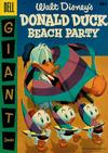 Cover for Walt Disney's Donald Duck Beach Party (Dell, 1954 series) #3