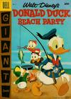 Cover for Walt Disney's Donald Duck Beach Party (Dell, 1954 series) #4