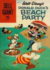Cover for Walt Disney's Donald Duck Beach Party (Dell, 1954 series) #6