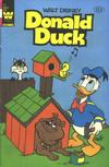 Cover for Donald Duck (Western, 1962 series) #237 [Whitman Yellow Logo]
