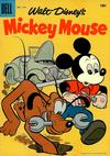Cover for Mickey Mouse (Dell, 1952 series) #57