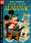 Cover for Mickey Mouse Almanac (Dell, 1957 series) #1