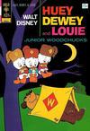 Cover for Walt Disney Huey, Dewey and Louie Junior Woodchucks (Western, 1966 series) #13 [Gold Key]
