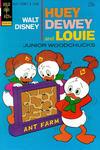 Cover for Walt Disney Huey, Dewey and Louie Junior Woodchucks (Western, 1966 series) #25 [Gold Key]