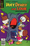 Cover Thumbnail for Walt Disney Huey, Dewey and Louie Junior Woodchucks (1966 series) #53 [Gold Key Variant]