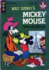 Cover for Mickey Mouse (Western, 1962 series) #89