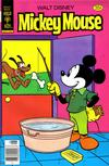 Cover for Mickey Mouse (Western, 1962 series) #184