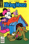 Cover for Mickey Mouse (Western, 1962 series) #186 [Gold Key]