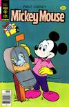 Cover for Mickey Mouse (Western, 1962 series) #191 [Gold Key]