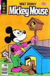 Cover for Mickey Mouse (Western, 1962 series) #196 [Gold Key]