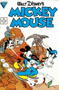 Cover Thumbnail for Mickey Mouse (Gladstone, 1986 series) #238