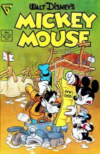Cover Thumbnail for Mickey Mouse (Gladstone, 1986 series) #243