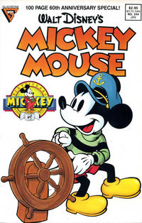 Cover Thumbnail for Mickey Mouse (Gladstone, 1986 series) #244