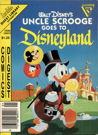 Cover Thumbnail for Uncle Scrooge Goes to Disneyland Comics Digest (Gladstone, 1985 series) #1