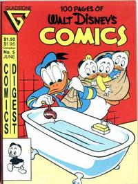 Cover Thumbnail for Walt Disney's Comics Digest (Gladstone, 1986 series) #5