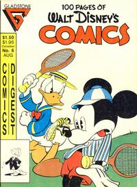 Cover Thumbnail for Walt Disney's Comics Digest (Gladstone, 1986 series) #6