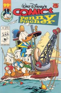 Cover Thumbnail for Walt Disney's Comics Penny Pincher (Gladstone, 1997 series) #4
