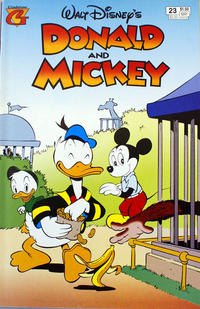 Cover Thumbnail for Walt Disney's Donald and Mickey (Gladstone, 1993 series) #23 [Direct]